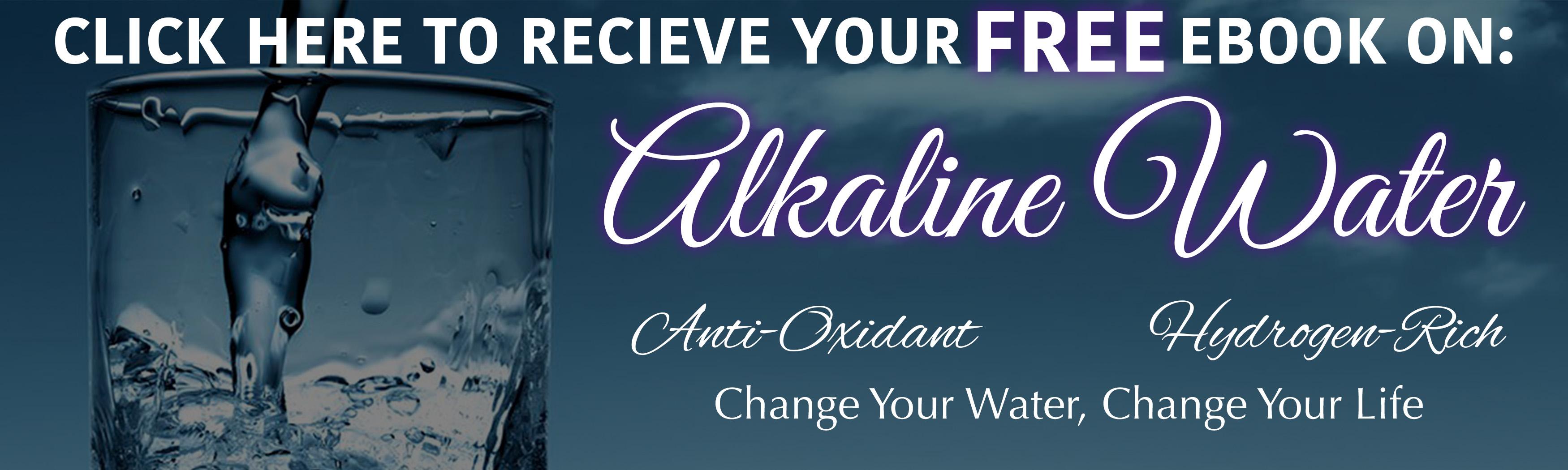 Alkaline Healing Water